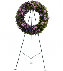 Heavenly Wreath Standing Wreath