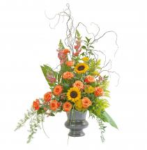 Heaven's Sunset Large Urn Arrangement