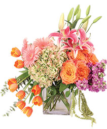 Heirloom Blossoms Flower Arrangement