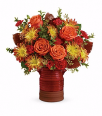 Heirloom Crock Bouquet On Sale