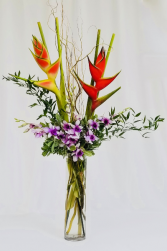 Heliconias Dance Tropical Bouquet