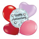 HELIUM Anniversary  Balloon Bouquets