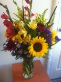 Hello Autumn! Vase