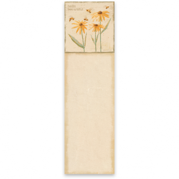Hello Bee-U-Tiful Magnetic notepad Gift