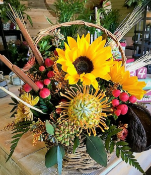 You Are My Sunshine Basket in Venice, FL | ALWAYS AN OCCASION FLORIST & DECOR