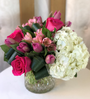 Hello From Far Vase Arrangement  in Woodbridge, ON | PRIMAVERA FLOWERS & MORE