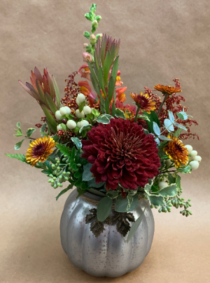 Hello Gourd-geous Halloween BOOquet in Moses Lake, WA | FLORAL OCCASIONS