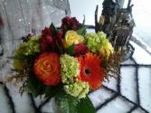 Fall Fun Vase Arrangement
