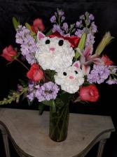 Hello Kitty and Kitten