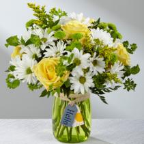 Hello Sun! Designer Vase Arrangement
