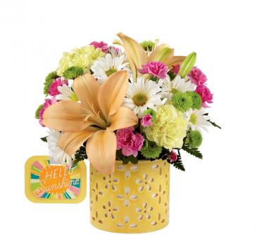 Hello Sunshine All-Around Floral Arrangement