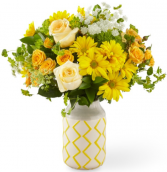 Hello Sunshine Bouquet  in Fort Collins, Colorado | D'ee Angelic Rose Florist