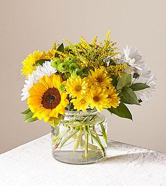 Hello Sunshine Clear Vase