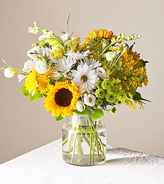 Hello Sunshine Premium Clear Vase