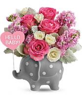 Hello Sweet Baby Pink tones