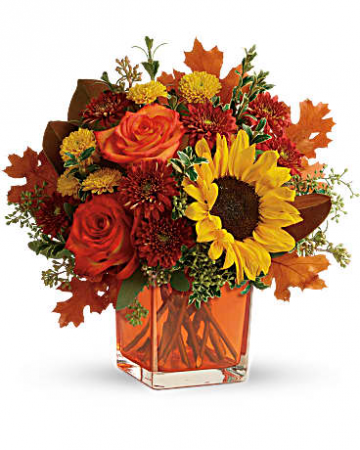 Hello to Autumn Vase