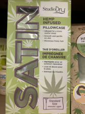 Hemp Infused Satin Pillowcases (SOLD OUT-Arriving Soon)