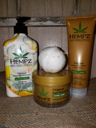 Hempz Gift Set Skin care
