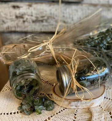 Herbal Relief Mason Jars Natural Remedies