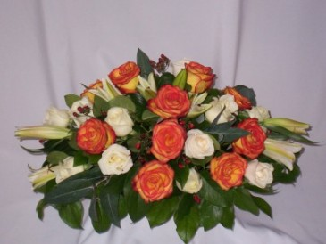 Here Comes The Sun - Funeral Home Flowers  Prince George BC: AMAPOLA BLOSSOMS