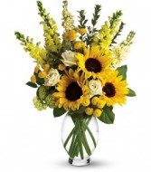 Here Comes The Sun Vase Arrangement