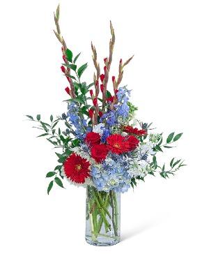 Hero's Journey Flower Arrangement in Nevada, IA | Flower Bed