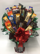 Hershey's candy bouquet