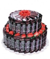 Hershey's Candy Bouquet Gift Basket