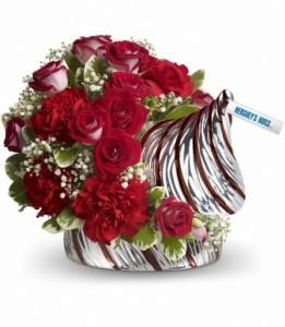 HERSHEY'S HUGS Bouquet  Gift Arrangement in Los Angeles, CA | MY BELLA FLOWER