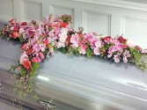 Hevenly Elegance Casket Spray