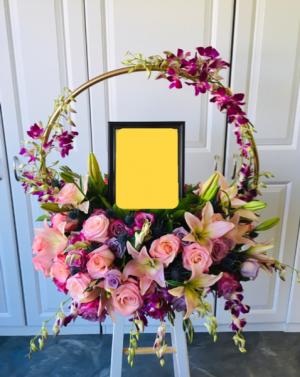 Eternal Urn elaborate  in Whittier, CA | Rosemantico Flowers