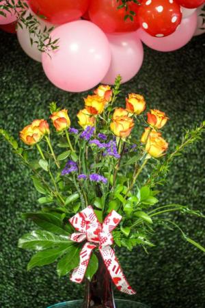 High Magic Bouquet  Valentines Roses