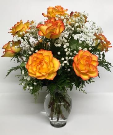 High & Magic Vase Arrangement