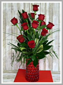 High Style Love Vase