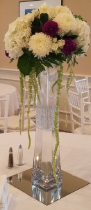 High Top Hydrangea Centerpiece