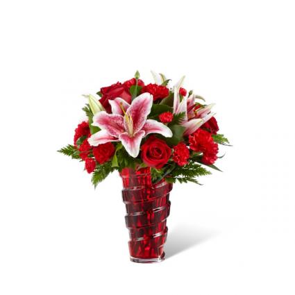 FTD-Higher Love™ Bouquet VASE ARRANGEMENT