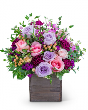 Higher Love Flower Arrangement in Nevada, IA | Flower Bed