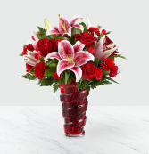 Higher Love Vase Arrangement
