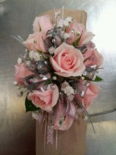Hint Of Blush Corsage