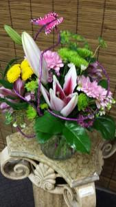 Hobbnail Vase of Spring