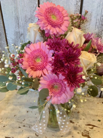 hoilday special gerbers/roses