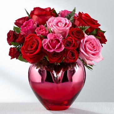 Hold My Hand Forever  FTD Vase Arrangement