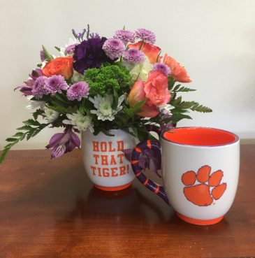 Hold That Tiger! Mug Arrangement