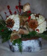 Holiday Birch Baskets