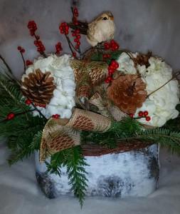 Holiday Birch Baskets