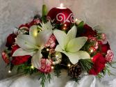 Holiday Blessings Keepsake Candle Holder