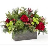 Holiday bliss Fresh arrangement