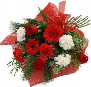 Holiday Bouquet Presentation Bouquet in Port Stanley, ON | FLOWERS BY ROSITA