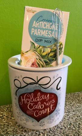 Holiday Calories Dip Chiller Gift