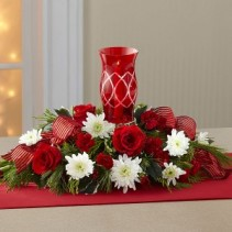 Holiday Candle Centerpiece Centerpiece